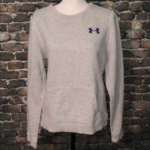 Under Armour UA crewneck sweatshirt w pocket grey